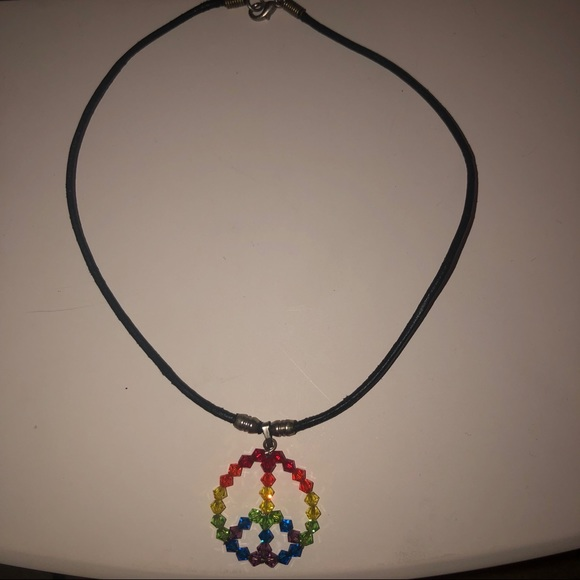 Other - Peace Sign Necklace